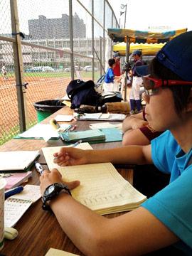 棒球比賽記錄員